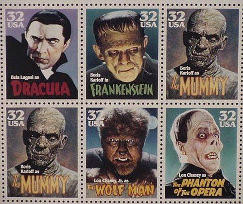 Sellos monstruosos #Halloween